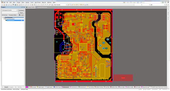 PCB Gerber from Altium designer PCB step 1