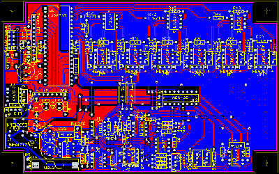 PCB layout design for 2 sided communication PCB