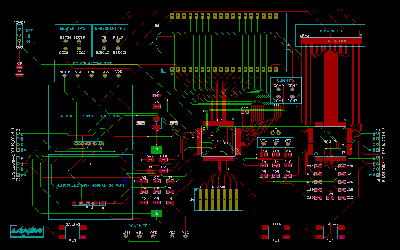 PCB layout design for a remote controller, based on Allegro PCB design