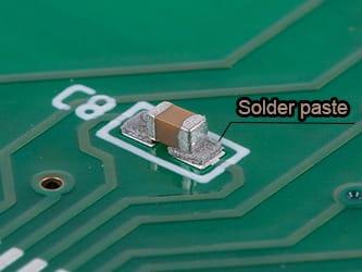 Solder paste for SMT PCB assembly