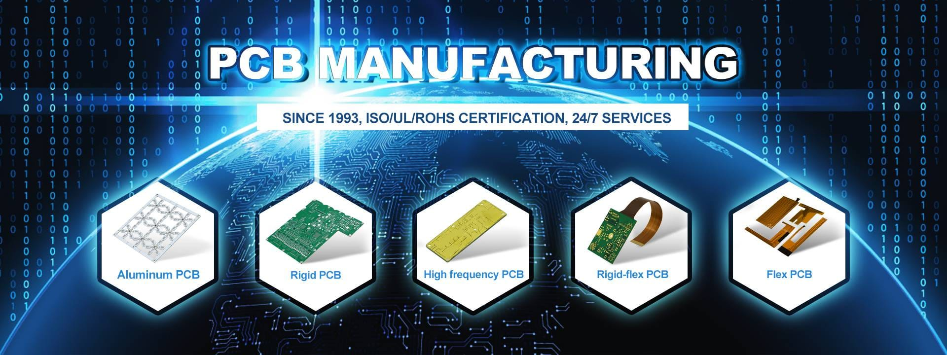 As the PCB supplier for more than 25 years, we provide quick turn PCB at a low pricing.