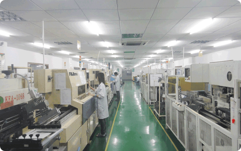 China PCB assembly equipment