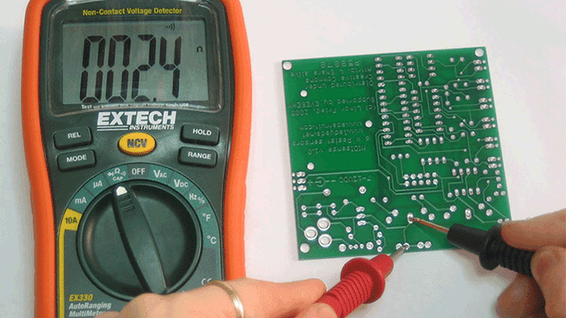 check short-circuit before PCB soldering