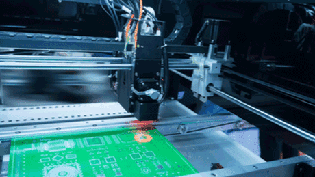 CNC machine to easily break out PCB panelization