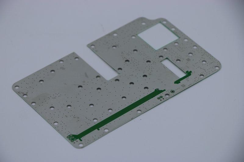 Bare Microwave PCB
