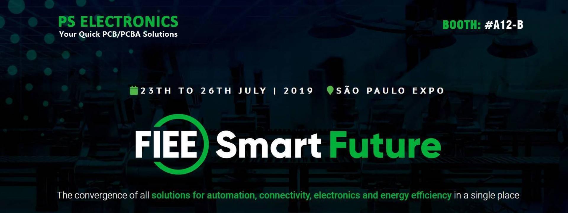Electronics fair in Brazil 2019 - PS Electronics