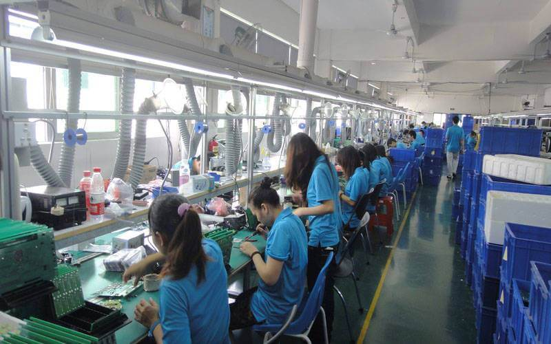 PCB Assembly DIP Lines
