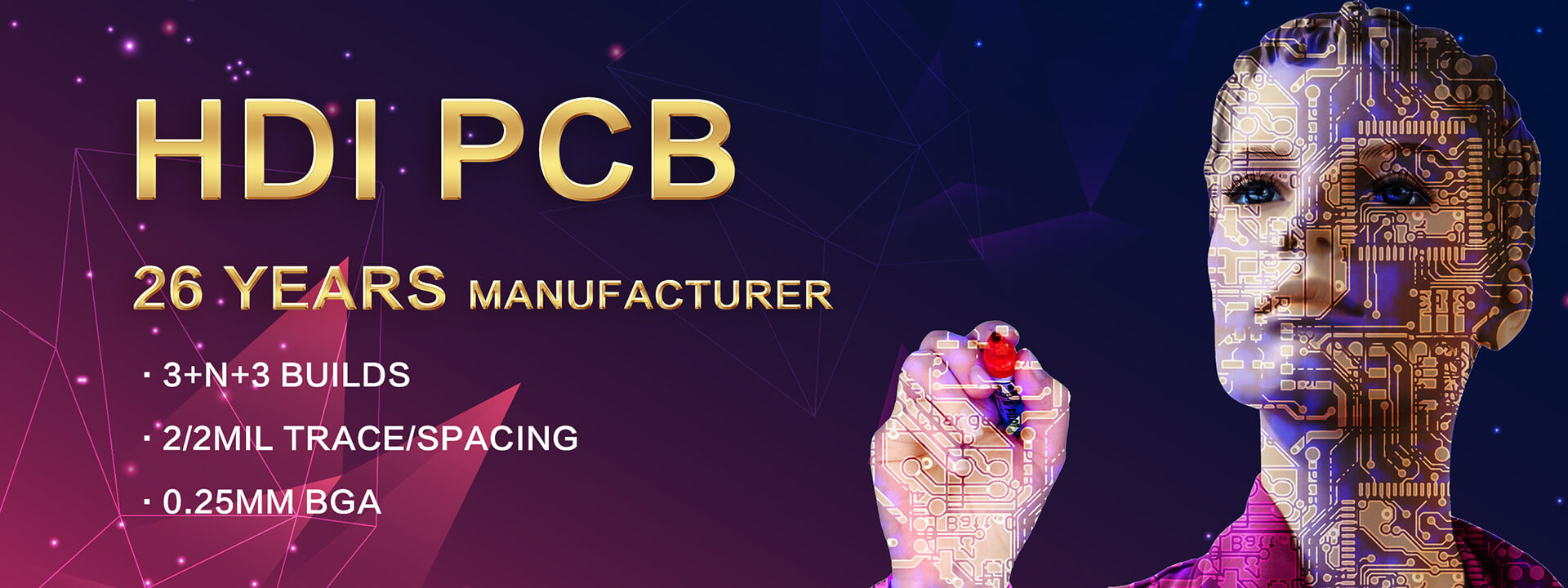 PS Electronics focuses on 4-20 layers HDI PCBs