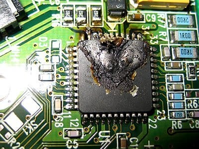 how to repair circuit boards damaged by thermal distress
