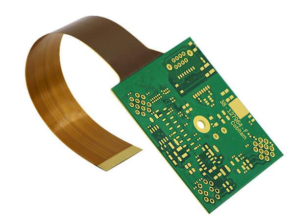 Rigid flex circuit boards