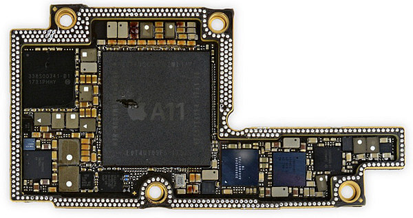 Substrate-like PCB for iPhone X