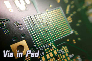 What is Via in Pad?