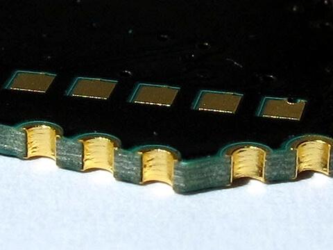 PCB board edge