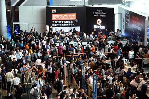 HK Electronics show