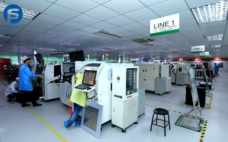 China PCB Assembly Plant