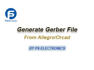 Generate Gerber File from Cadence Software