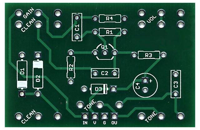 green PCB solder mask