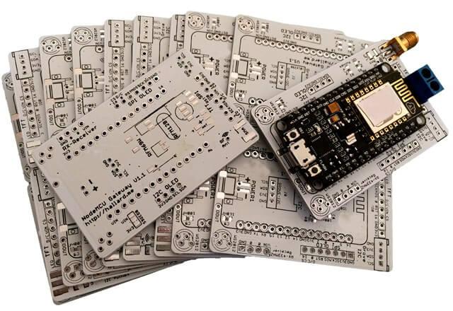 white PCB solder mask