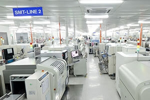The main equipment in an SMT line